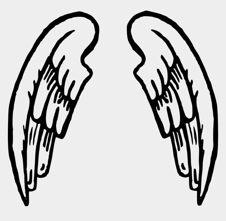 wings clipart, Cartoons - Free Download Angel Wings Tattoo Clip Art At Clker - Angel Wings Cartoon Png