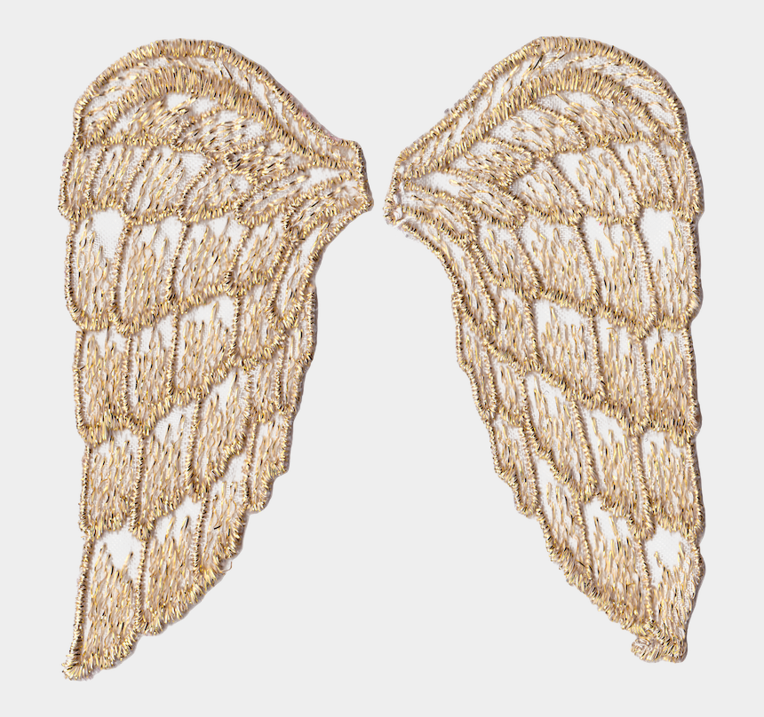 photograph relating to Printable Angel Wings identify Wings Clipart Printable - Gold Angel Wings Clear