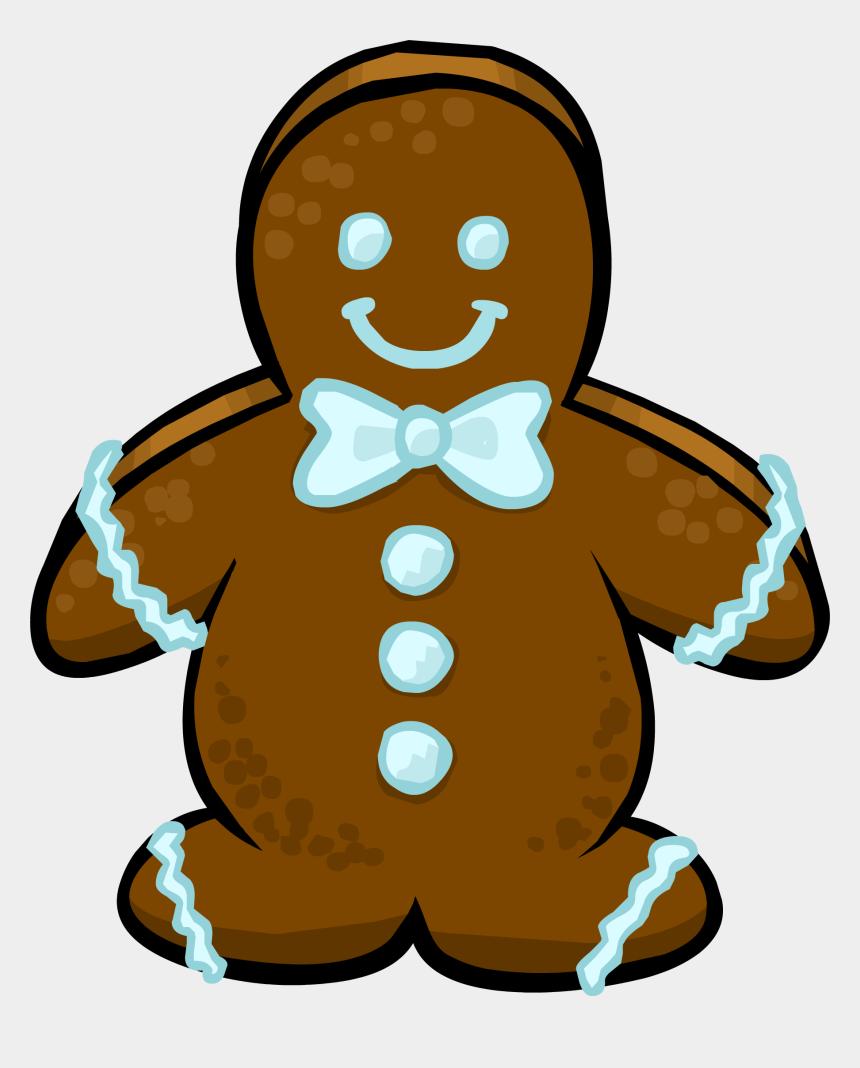 gingerbread man clipart, Cartoons - Dojo Clipart Gingerbread - Gingerbread Man Sprite