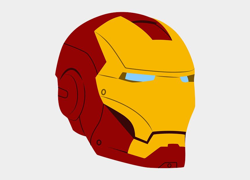 head clipart, Cartoons - Iron Man Face Png