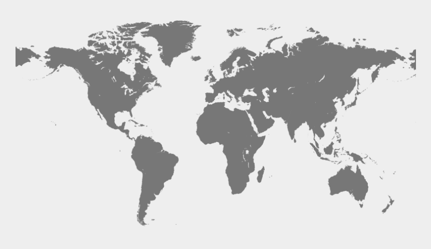 kostenlose cliparts, Cartoons - Cumulative Shipments - Simple Colour World Map