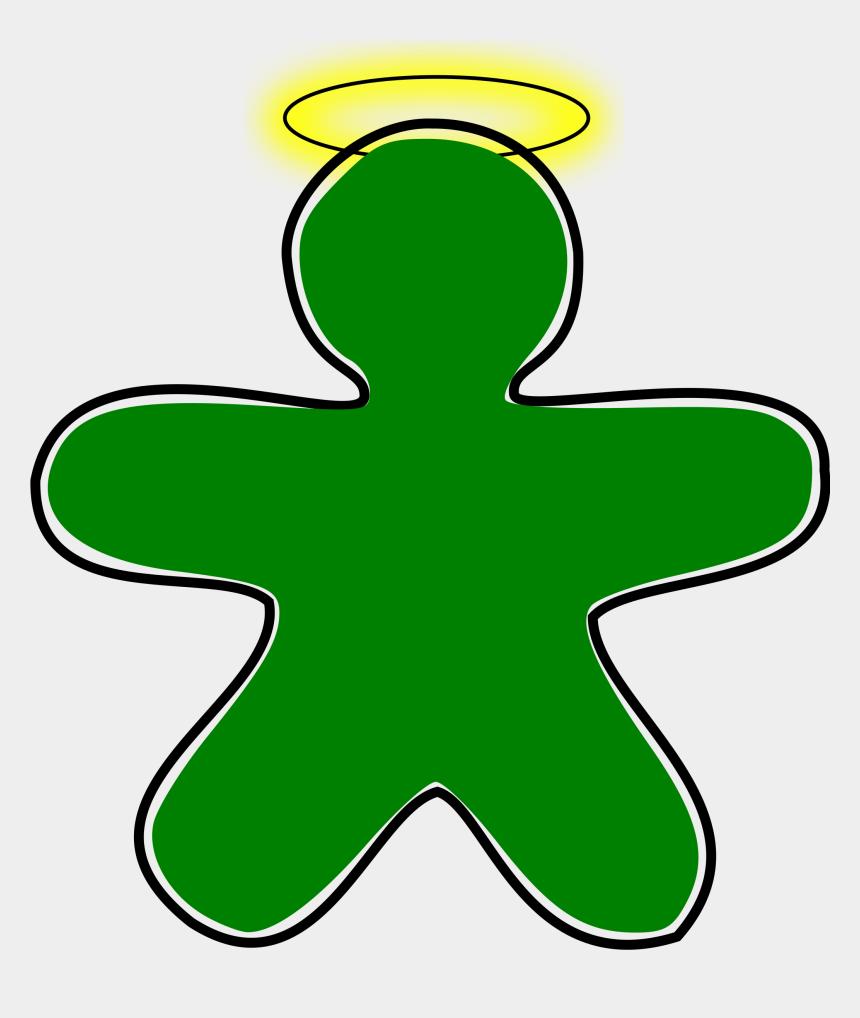 gingerbread man clipart, Cartoons - Gingerbread Svg Green