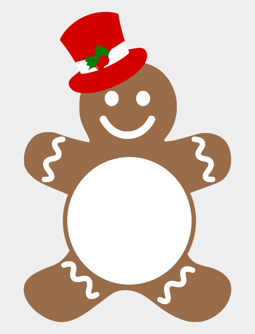 gingerbread man clipart, Cartoons - A New Gingerbread Man Has Been Added To Our Collection - Free Gingerbread Man Vector