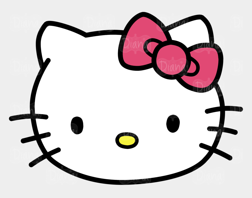 head clipart, Cartoons - Hello Kitty Head Clipart Pictures - Hello Kitty Head Png