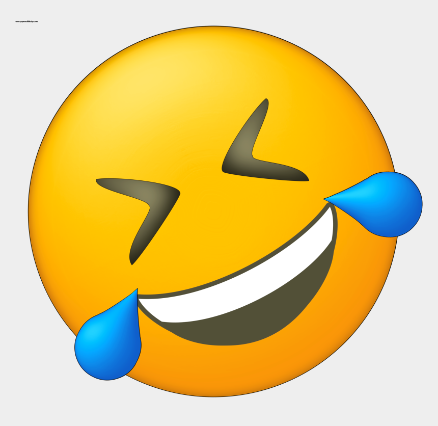 laughing clipart, Cartoons - Crying Laughing Png - Laughing Crying Emoji Side