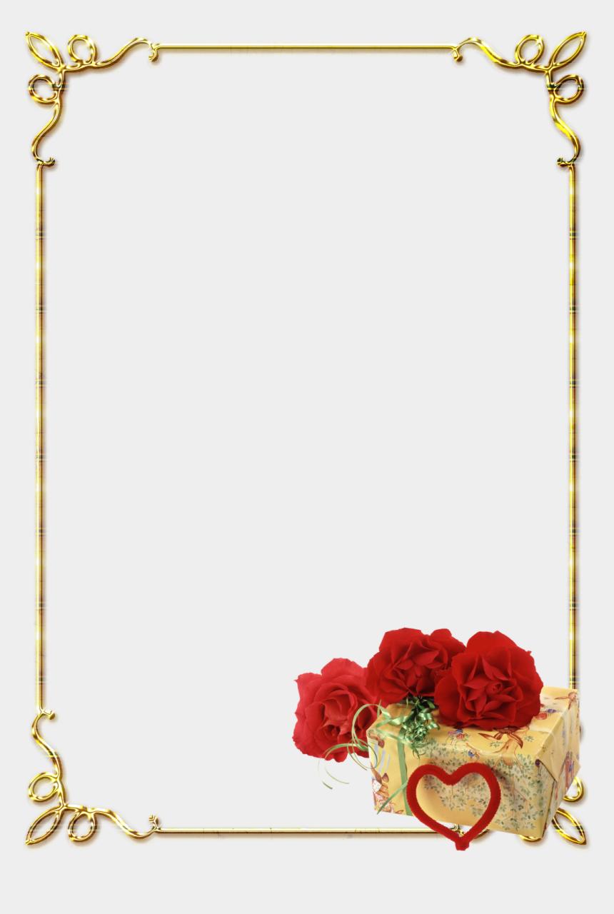 border design clipart, Cartoons - Download Page Border Design Clipart Borders And Frames - Rose Flower Border Design