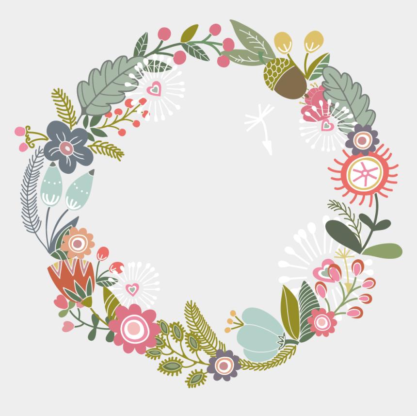 border design clipart, Cartoons - Flower Paper Design Floral Border Ribbon Clipart - Flower Border Design