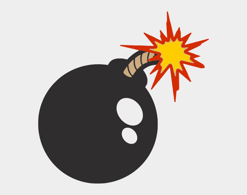 explosion clipart, Cartoons - Bomb Png