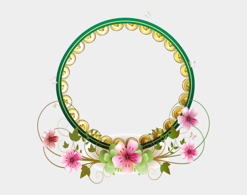 border design clipart, Cartoons - Circle Borders, Borders And Frames, Creations, Fabric, - Wedding Border Designs Png