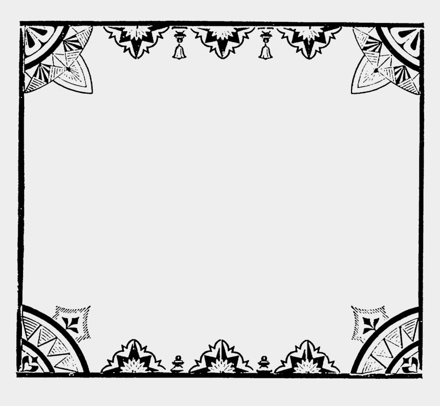 border design clipart, Cartoons - Frame Decorative Image Transfer Printable Border Design - Celtic Dragon Border