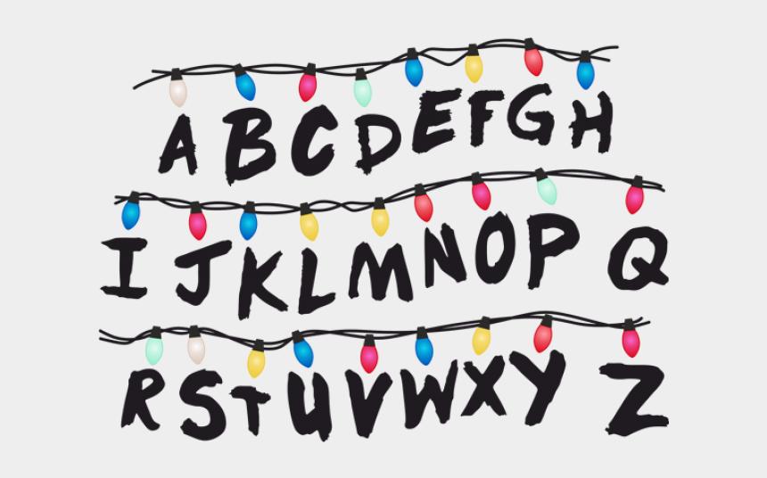 christmas lights clipart, Cartoons - Christmas Lights Clipart Stranger Things