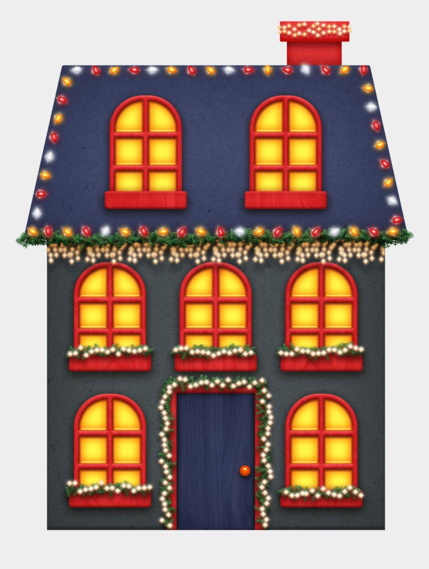 christmas lights clipart, Cartoons - Cute House, Christmas Colors, Christmas Lights, Merry - Christmas Lights House Clipart