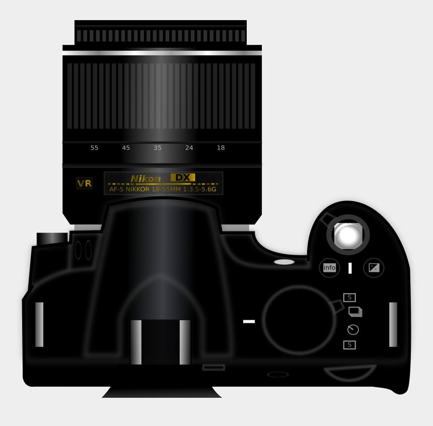 photography clipart, Cartoons - Photography Clipart Camera Dslr - Big Lens Camera Png