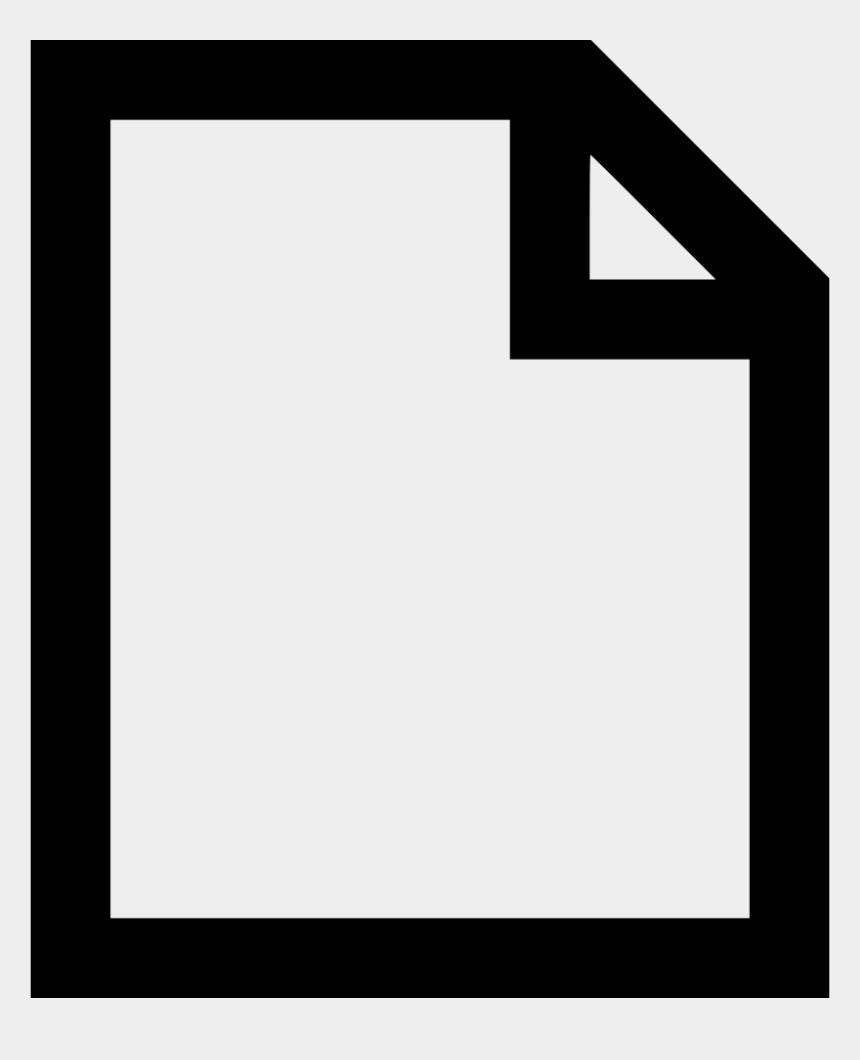 document clipart, Cartoons - Document Clipart Blank Document - Transparent Blank File