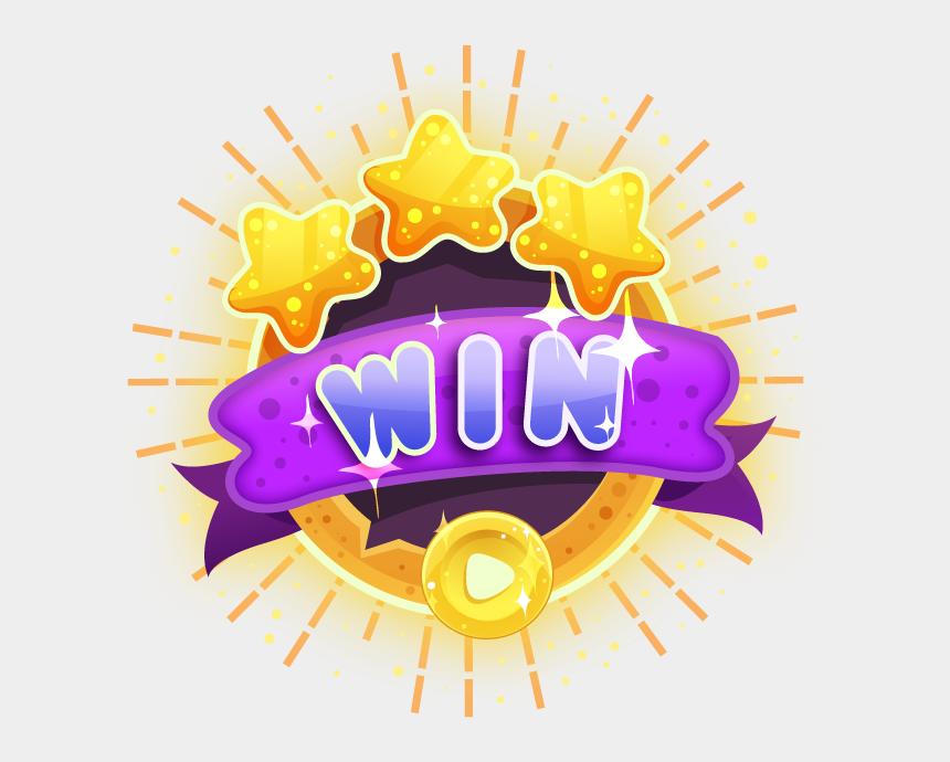 winner clipart, Cartoons - Crowns Clipart Winner - Game Winner Badge Design Pack