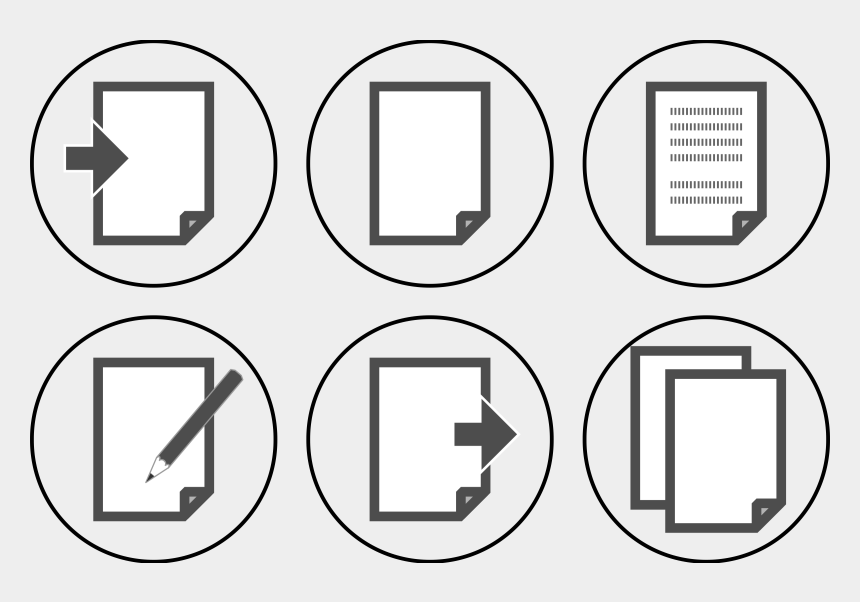 document clipart, Cartoons - Clipart Icon Set Document - Info Icon