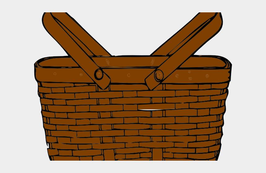 Picnic Basket Clipart Busket Gambar Keranjang Buah Animasi