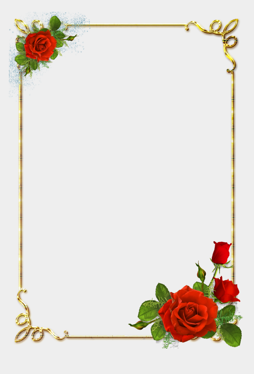 microsoft office clipart, Cartoons - Microsoft Office - Flower Page Border Design