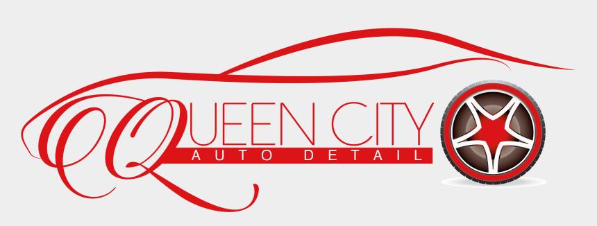auto detailing clip art, Cartoons - Queen City Auto Detail Logo - Auto Detailing Logo Png