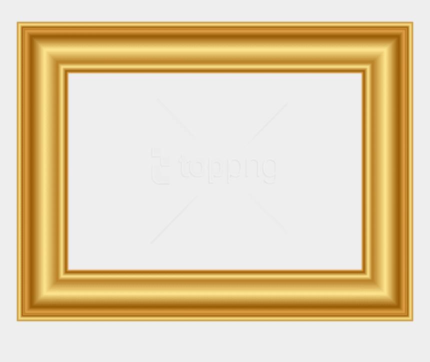 decorative arrow clip art, Cartoons - Transparent Star Frame Png - Gold Transparent Picture Frame