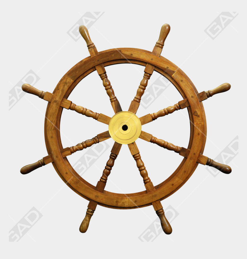 ship wheel clip art, Cartoons - Nautical Ship Wheel - Steering Wheel