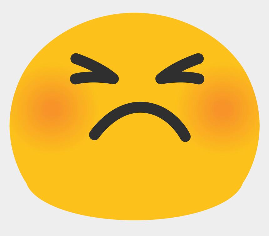 angry faces clip art, Cartoons - Blushing Emoji Png - Cute Angry Face Emoji