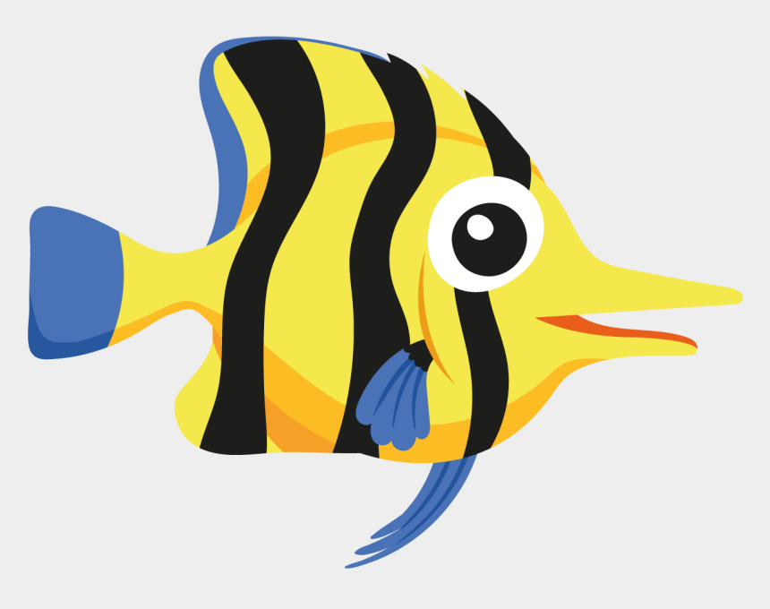 pontoon boat clip art, Cartoons - Butterfly Fish - 海洋 生物 卡通 圖案