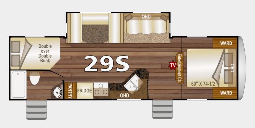 travel trailer clip art, Cartoons - Nash 29s Travel Trailer Floor Plan - Nash 29s