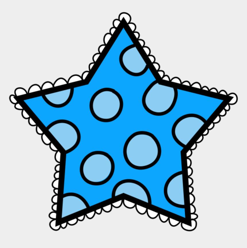 polka dot clip art, Cartoons - Polka Dot Star Clipart