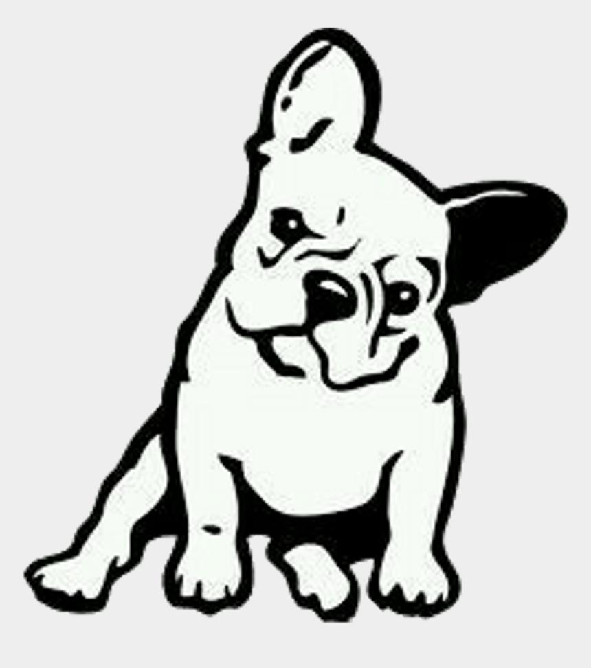 french bulldog clip art, Cartoons - French Bulldog Cartoon Drawing Clipart , Png Download - French Bulldog Drawing Easy