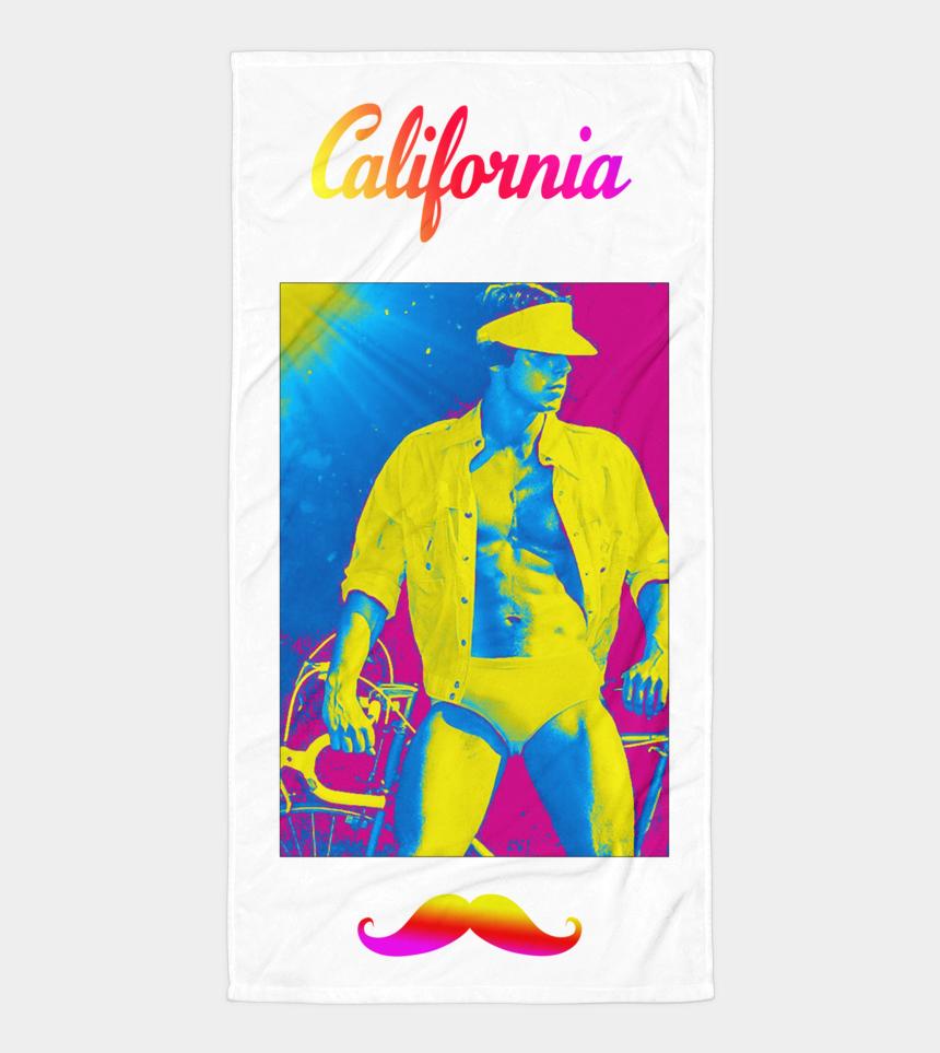 beach towel clip art, Cartoons - California Biker Beach Towel - University Of California Berkeley Mascot