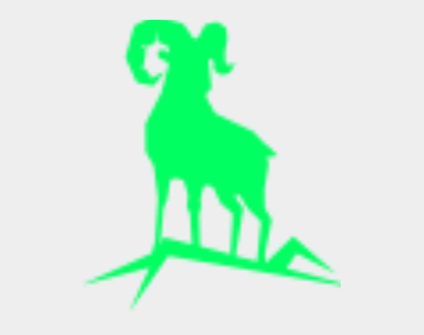 mountain silhouette clip art, Cartoons - Graphic Mountain Goat Clipart , Png Download - Silhouette Of A Mountain Goat
