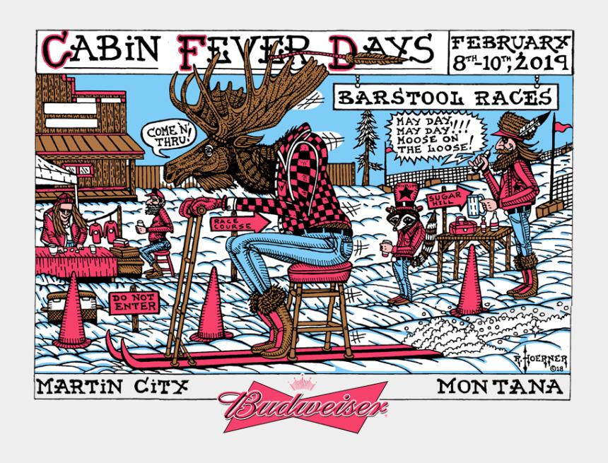 special events clip art, Cartoons - Martin City Cabin Fever Days
