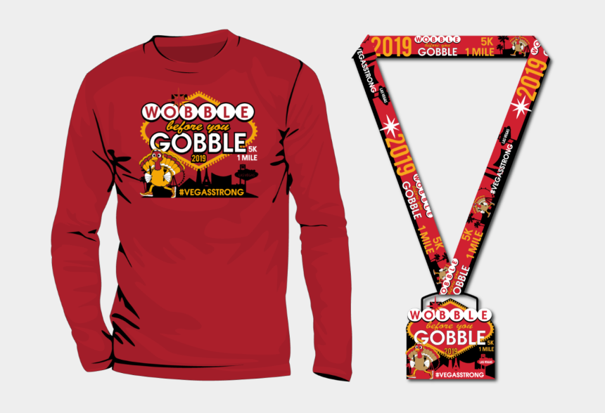 gobble til you wobble clip art, Cartoons - Long-sleeved T-shirt