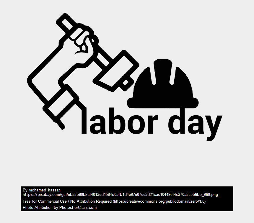 Vintage Labor Day Clipart | Labor day quotes, Labor day history, Labor day  pictures