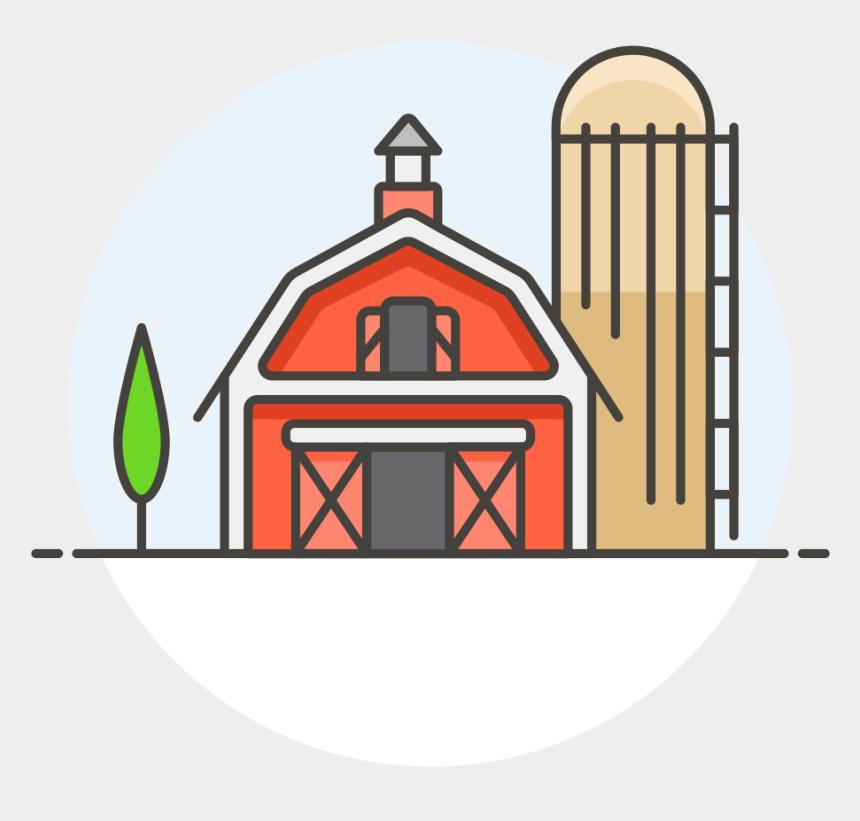 red barn clip art, Cartoons - Barn - Transparent Farm Icon Png