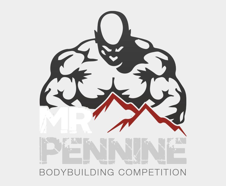 bodybuilder clip art, Cartoons - Bodybuilding Logo