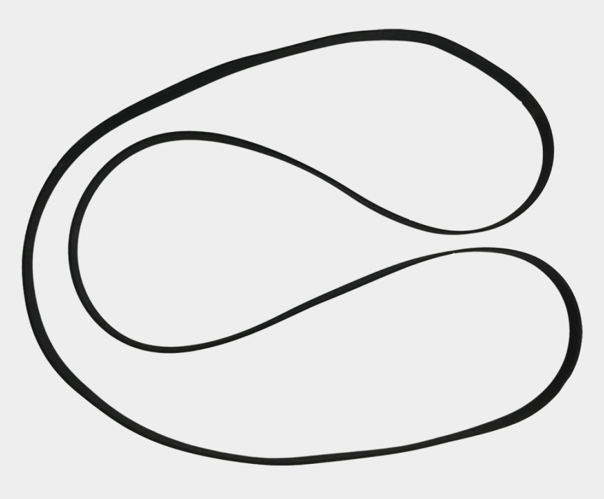 line up clip art, Cartoons - Belt For Stir It Up Turntable - Line Art