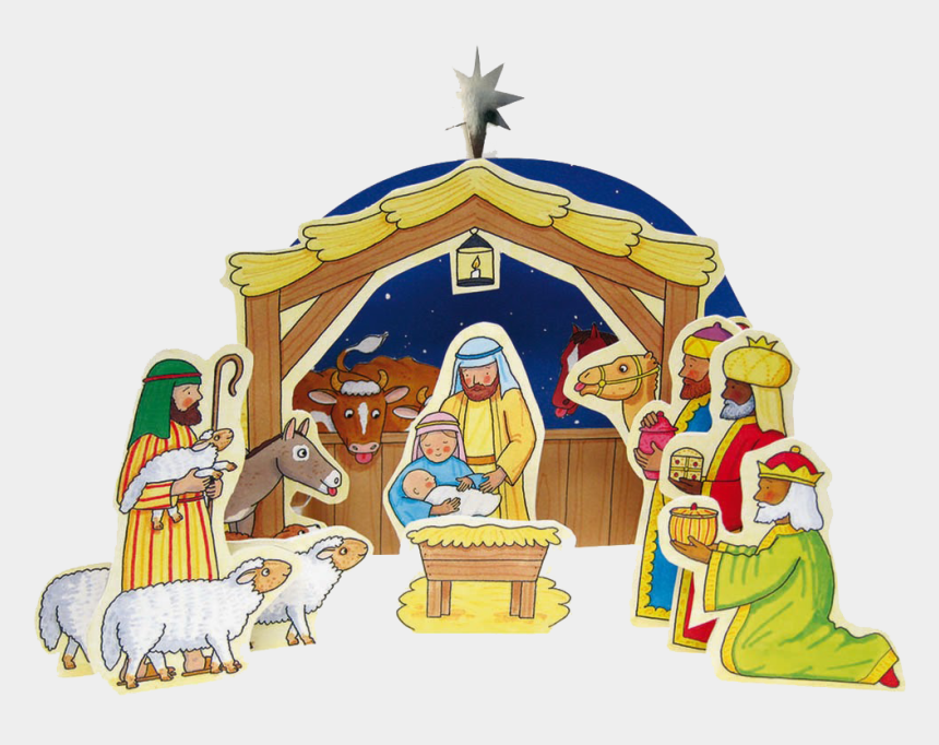 christmas nativity clip art, Cartoons - Christmas Nativity - My First Nativity Set Rod Campbell