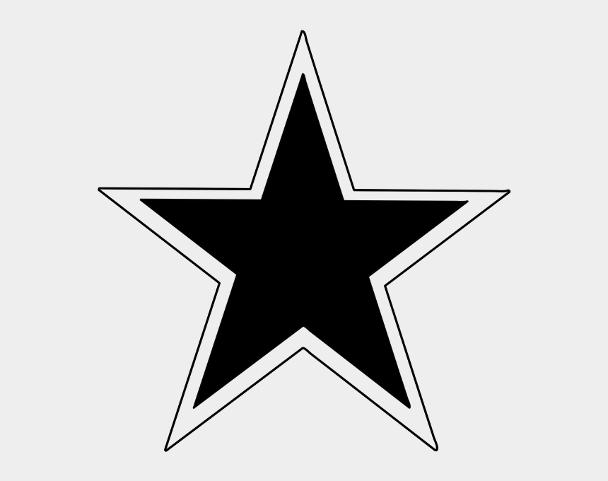 stars outline clip art, Cartoons - Star Outline Clip Art - Star With Outline