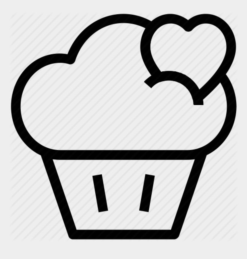 anatomical heart clip art, Cartoons - Cupcake Outline Cupcake Drawing Outline At Getdrawings - Outline Cupcake Drawing