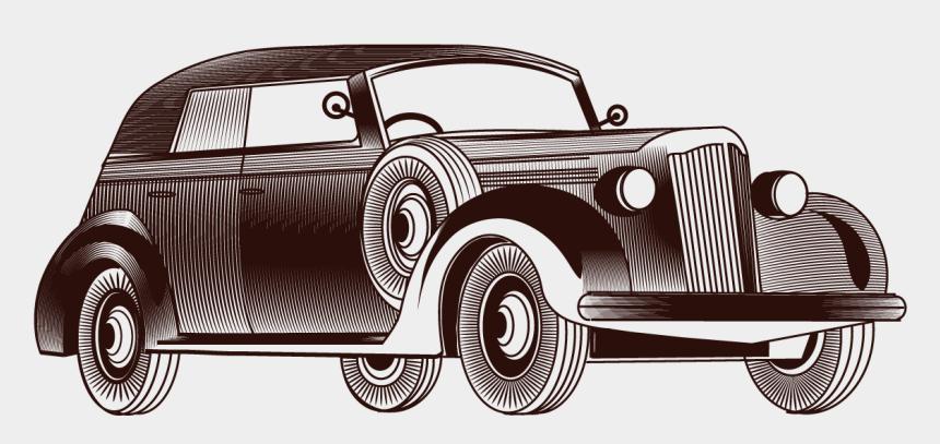 classic car clip art, Cartoons - Vintage Vector Car Free Hq Image Clipart - Classic Car Vector