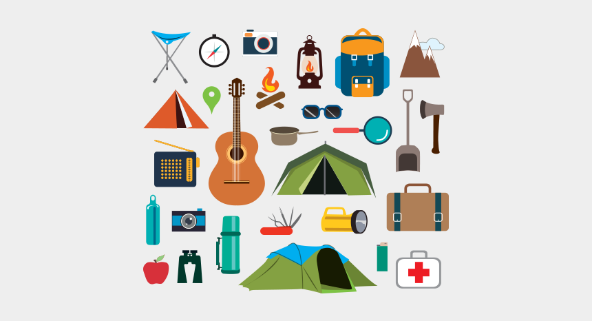 Camping Stuff Free Vector And Png Camping Icons Cliparts Cartoons Jing Fm