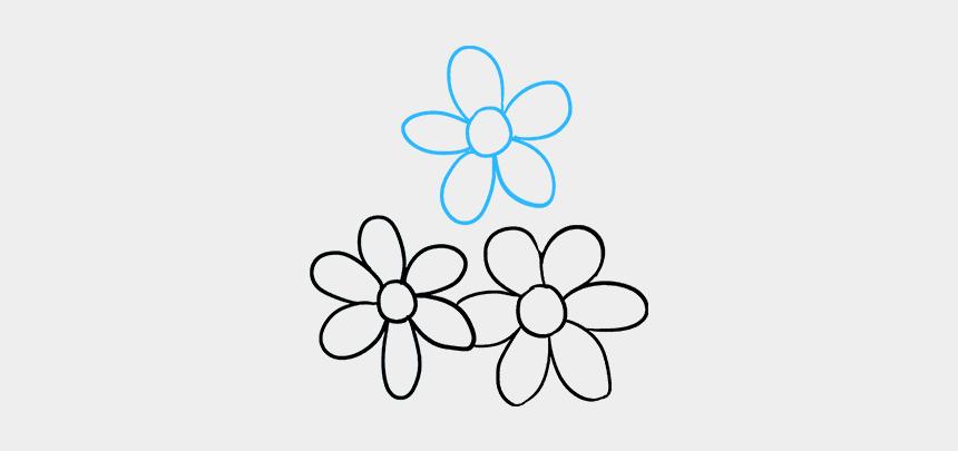 bouquet clip art, Cartoons - How To Draw Flower Bouquet - Line Art