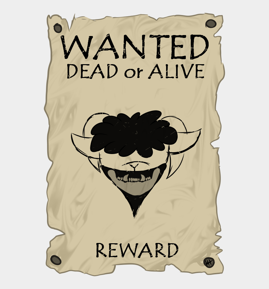 wanted poster clip art, Cartoons - Wanted Poster - Poster