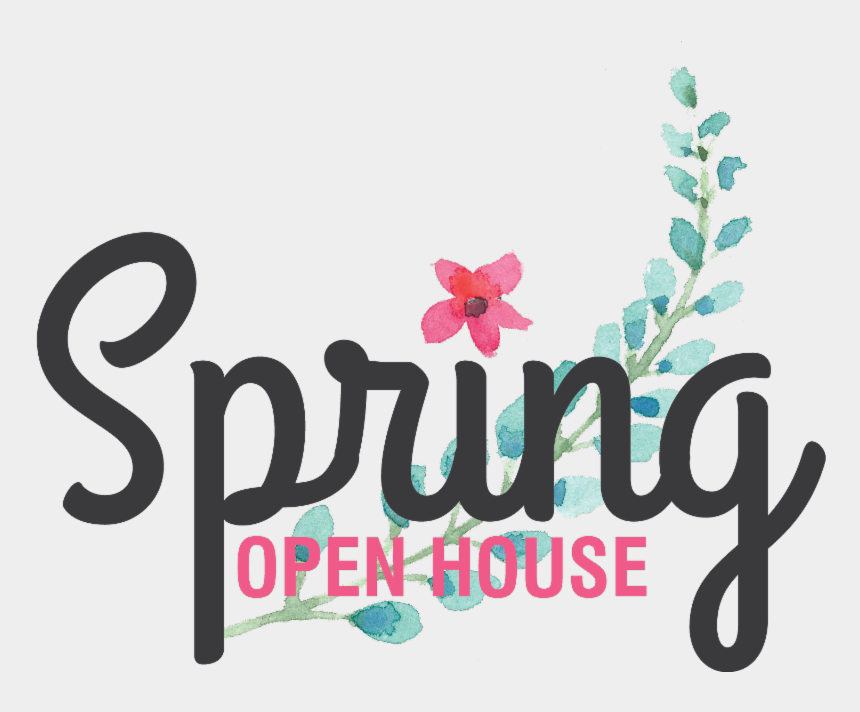 reminder clipart, Cartoons - Friendly Reminder Clip Art - Spring Open House Graphic