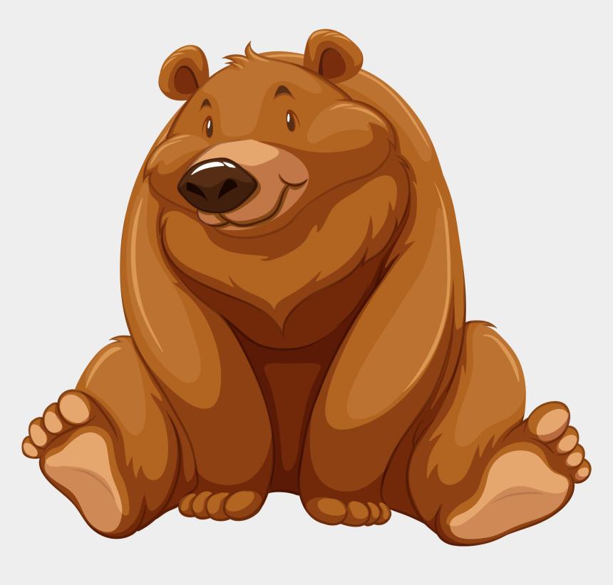 groundhog clipart, Cartoons - Brown Bear Illustration Door Stickers Transprent Ⓒ - Imagens De Animais De Desenho