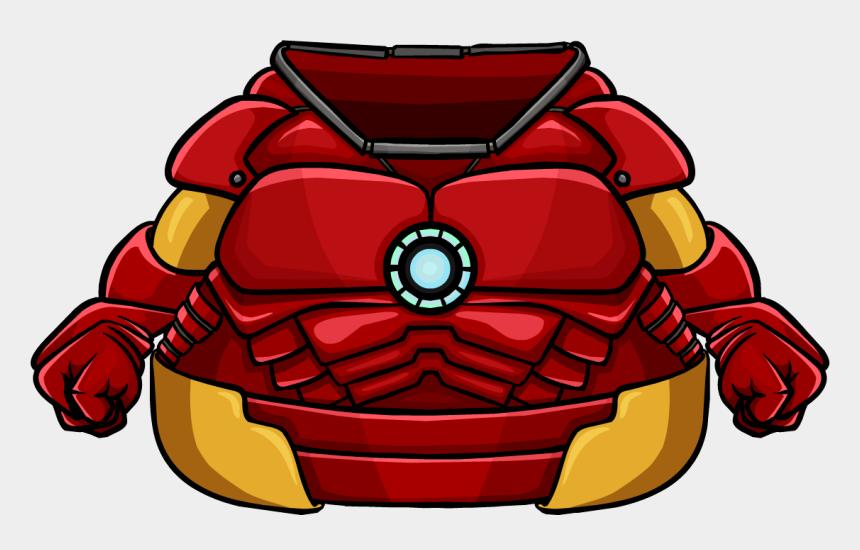 body clipart, Cartoons - Iron Man Clipart Body - Club Penguin Iron Man