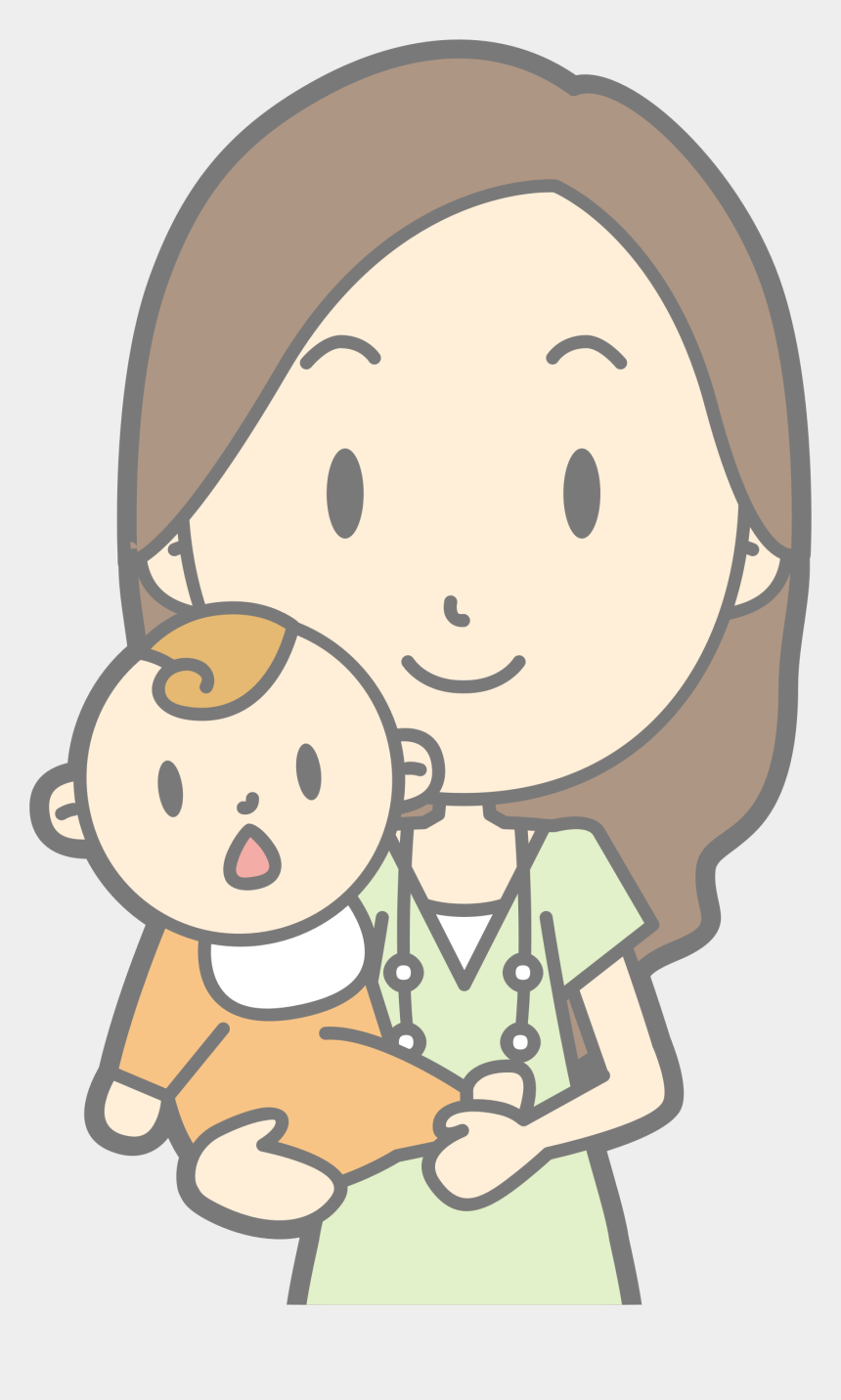 mother clipart, Cartoons - Mother Clipart Patient - Happy Mother Day Png