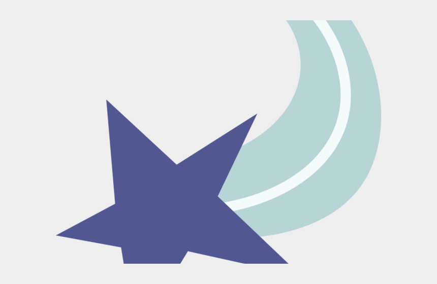 shooting star clipart, Cartoons - Shooting Star Clipart Logo - Mlp Cutie Mark Star